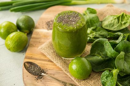 Recette kiwi, poire, graine de chia