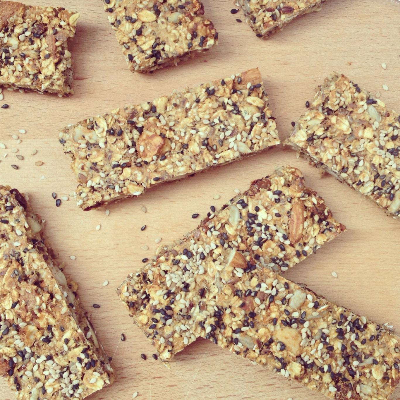 Fabuleux Barre de céréales quinoa, avoine et lin - VALEBIO QJ88