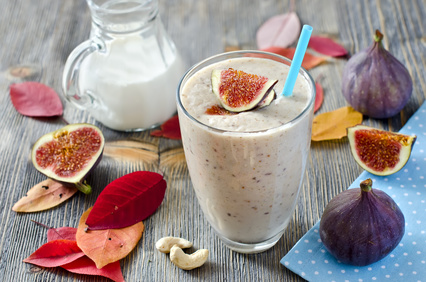Smoothie figue mûre