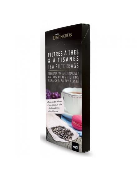 Filtres à thé Biodégradable x40